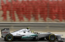 On the track? Rosberg fastest in Bahrain practice