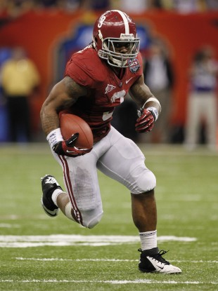Alabama's Trent Richardson will be the only running back to go in the first round of this year's NFL Draft.