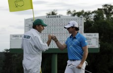 US Masters: Rory McIlroy saves himself by going right