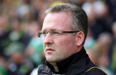 Norwich City reject Paul Lambert's resignation