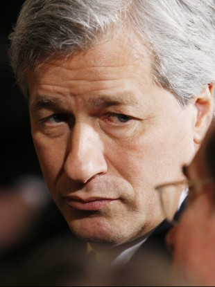 JP Morgan Chase chief executive Jamie Dimon has opposed the 'Volcker Rule', but said it would not have prevented the bank's surprise losses.