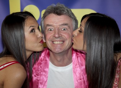 The shy and retiring Ryanair CEO Michael O'Leary