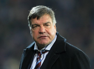 Kean succeeded Allardyce at Blackburn.