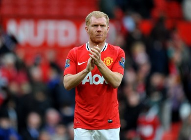 Scholes retired from England duty in August 2004.