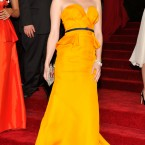Emma Roberts in Escada. 