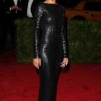 Rihanna in crocodile leather by Tom Ford - yep, that seems about right.