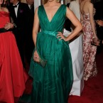 Glee's Dianna Agron in Carolina Herrera