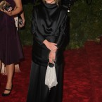 Mary-Kate Olsen in a very Olsen-y The Row creation.
