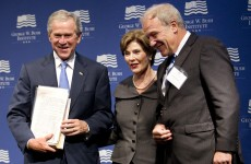 George W Bush welcomes Arab Spring, says USA should not 'fear freedom'