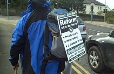 'It doesn't stop here' – Man promises new political party after 123 mile walk