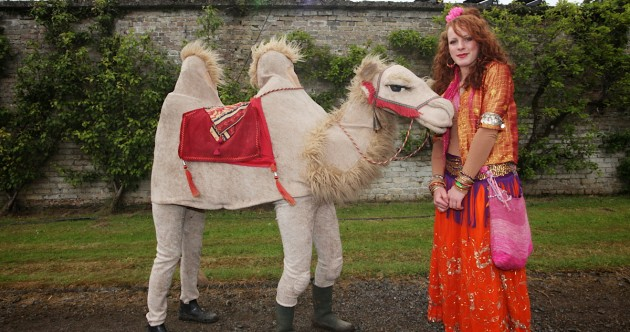 Brollies, pirates… and a camel: the Body and Soul festival in pics
