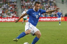 Prandelli thanks Michel Platini for Italy's first goal against Ireland
