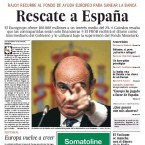 Spain will be rescued, said the leading daily El Pais.