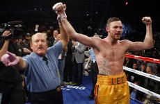 'I've never been more ready to win the title' – Lee confident ahead of Chavez Jr fight