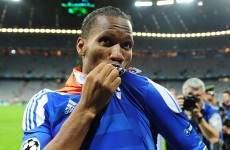 Au revoir: Drogba signs for Shanghai Shenhua