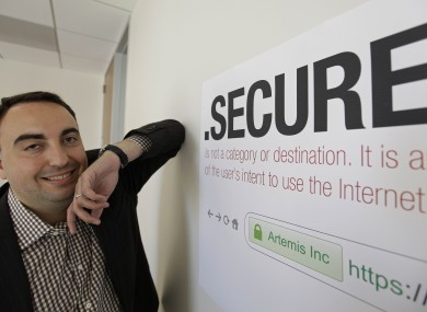 Alex Stamos of Artemis Internet is looking to buy the rights to administer the .secure address, one of thousands of new suffixes planned for introduction in the coming years.
