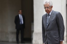 Italy is relaxed despite 'crucial' time for the eurozone, says Mario Monti