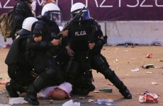 Euro 2012: 184 arrested in Warsaw violence