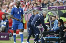 Croatian fan threw banana at Balotelli – report