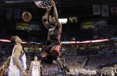 NBA finals: Heat stop Thunder roll to tie series