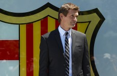 Vilanova officially unveiled as Barca manager