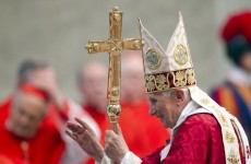 Pope speaks of human weakness in sinful church