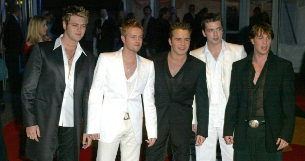 In pictures: Westlife through the years