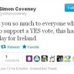 Fine Gael's Director of Elections wants to thank you.