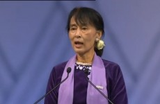 21 years later: Aung San Suu Kyi accepts Nobel Peace Prize
