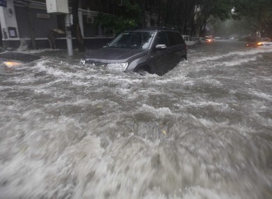 Flooding in Beijing