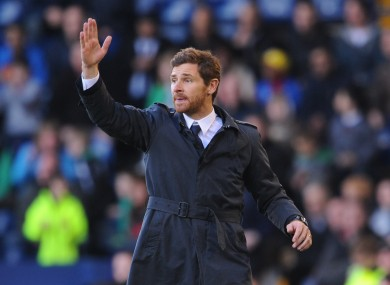 AVB: sacked by Chelsea midway first season in charge at the Bridge.