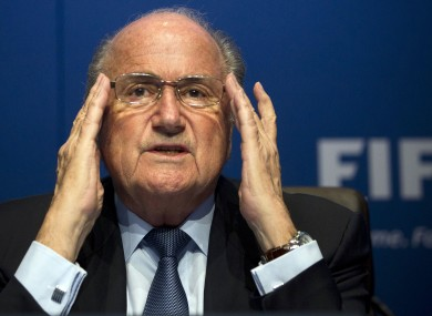 Blatter had previously resisted calls to introduce goal-line technology into football.