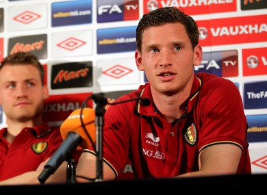 Jan Vertonghen: will replace Ledley King in Spurs defence.