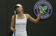 Sharapova and out! Maria, Clijsters sent packing at Wimbledon