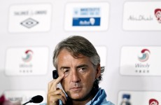 I'll have to ask my supervisor: Mancini says he's not in charge of transfers