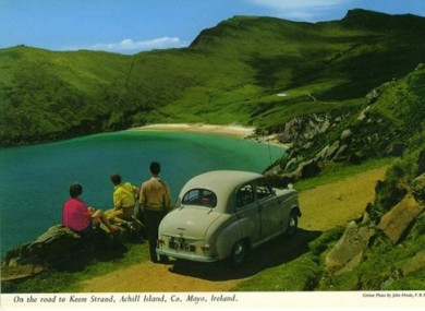A wonderful John Hinde photograph of Achill Island.