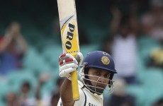 Ton up: Laxman brings career to an end