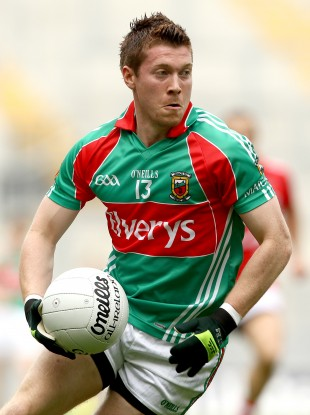 Enda Varley: the only change in Mayo's team to face Dublin.