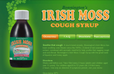 Novel Use for Irish Moss of the Day
