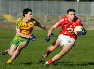 Cork's Mark Collins and Mark McHugh of Donegal have both made the jump from U21 to senior level.