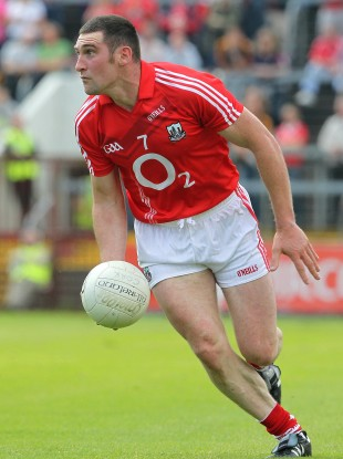 Noel O'Leary in action against Kerry.