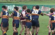 VIDEO: The most violent post-match handshake you're ever likely to see