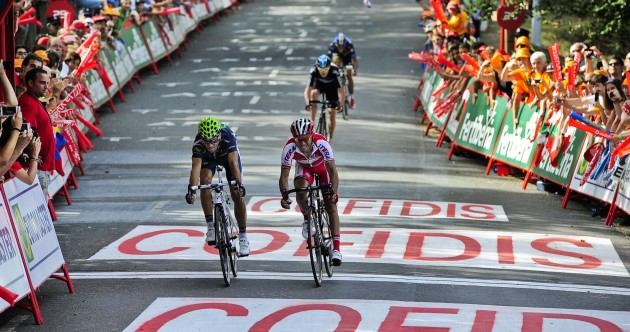 Vuelta á Espana: Valverde on top as battle for red sparks to life