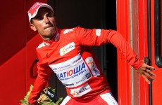 Vuelta á Espana: Rodriguez makes the most of his red letter day