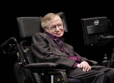Stephen Hawking (file photo).