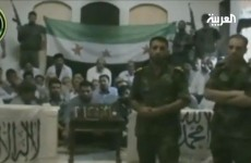 VIDEO: Syria rebels say hostages are elite soldiers from Iran
