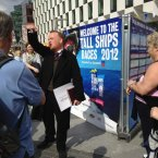 Reader @valmullally enjoyed talking the festival's historical walking tour - here's the guide starting out on a tour.