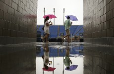 Rain returns to curse US Open