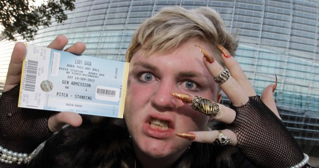 Photos: Fans queue for over a week for Lady Gaga Dublin gig