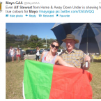Who knew Home & Away's Alf Stewart was a Mayo fan.